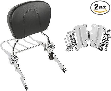 Rear 4 Point Docking Hardware Kit For Harley Touring Sissy Bar Backrest 09-13