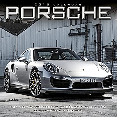 Calendario de 2016 PORSCHE-Coche de COLLECTION-Coche ...