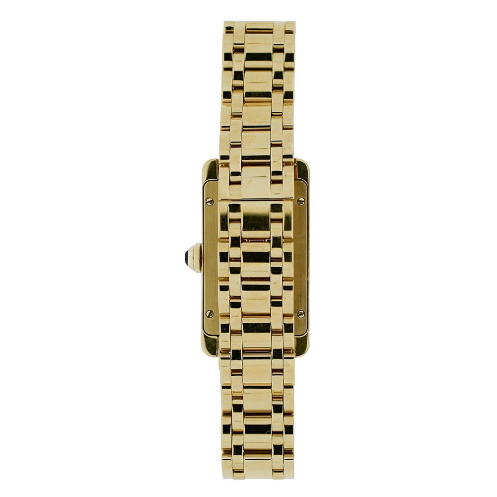 Cartier Tank Americaine quartz womens Watch 1710 (Certified Pre-owned) by Cartier (Image #2)
