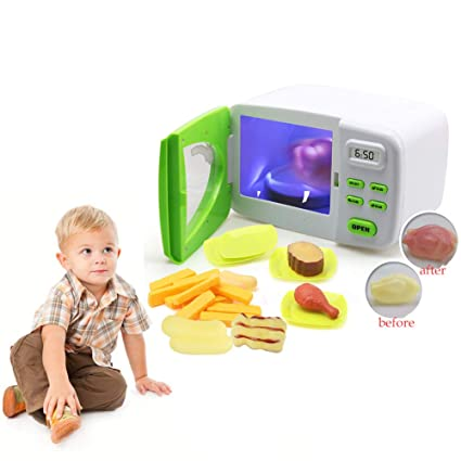 Amazon.com: Hilai 1 Set Magic Microwave Oven Toy Children ...