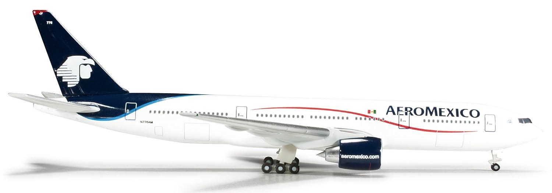 almacén al por mayor Comercio internacional Herpa Wings 1/500 1/500 1/500 B777-200 de Aeromexico (japn importacin)  popular
