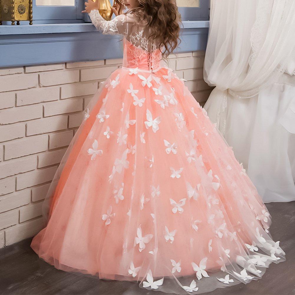 Vestido De de Princesa de Tul Encaje con Appliques Vestido de Bola ...