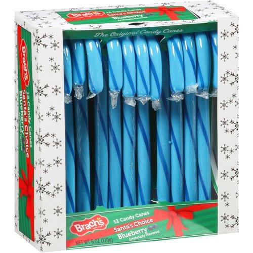 Brach's Santa's Choice Blueberry Candy (Blue Candy Canes)