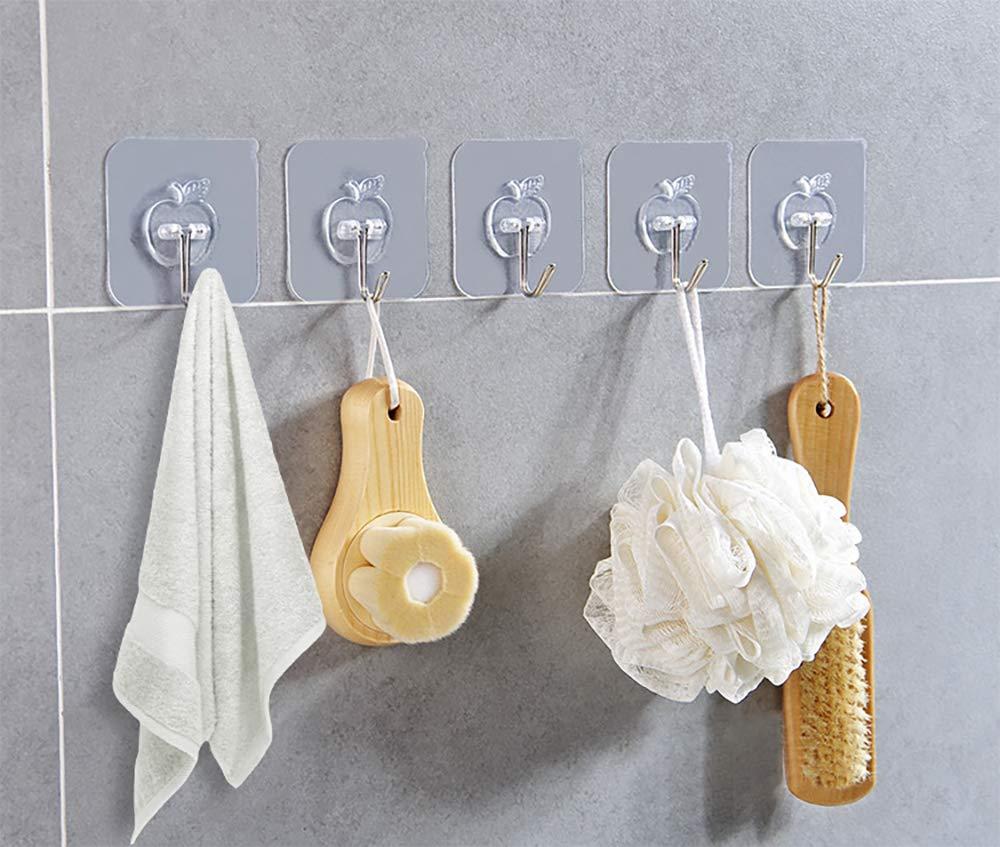 SKYEE Lot DE 12 Crochets adhésifs en Plastique Y20180914003