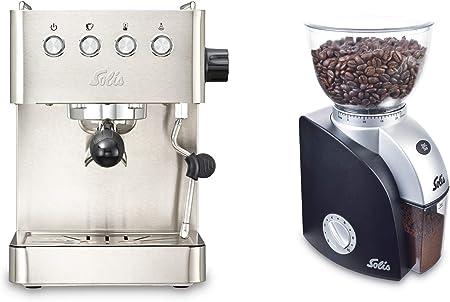Solis Barista Gran Gusto 1014 - Set Cafetera expresso automática + Molinillo de café + Descalzificador + Pastillas de limpieza: Amazon.es: Hogar