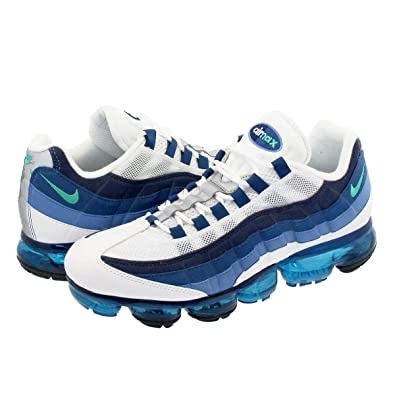 9a1c7058b6e9  ナイキ  AIR VAPORMAX 95 WHITE NEW GREEN FRENCH BLUE LAKE BLUE