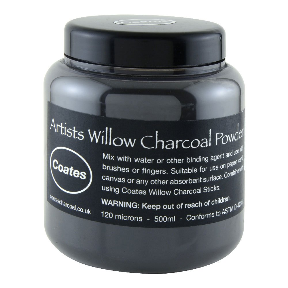 Coates Willow Powdered Charcoal 500ml by PH Coates