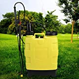 Cheap 5-Gallon Backpack Sprayer 20L Portable Pressure Sprayers Garden Lawn Yard Weed Sprayers Knapsack Hand Piston Pump