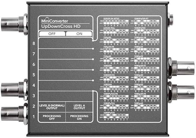 Amazon Com Blackmagic Design Mini Converter Updowncross Hd Electronics