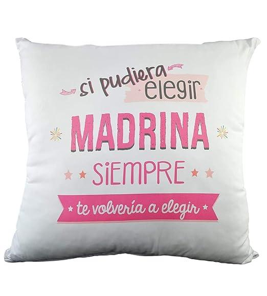 COJIN con Frase SI PUDIERA Elegir Madrina Siempre TE ...