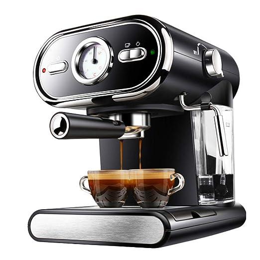 QUANOVO Cafetera Express para Espresso Y Cappucino 1000W 20 Bares ...