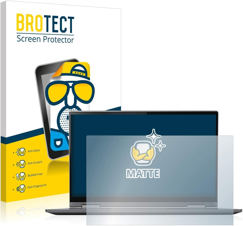 BROTECT Entspiegelungs-Schutzfolie kompatibel mit Lenovo IdeaPad Z50-70 Displayschutz-Folie Matt Anti-Fingerprint Anti-Reflex