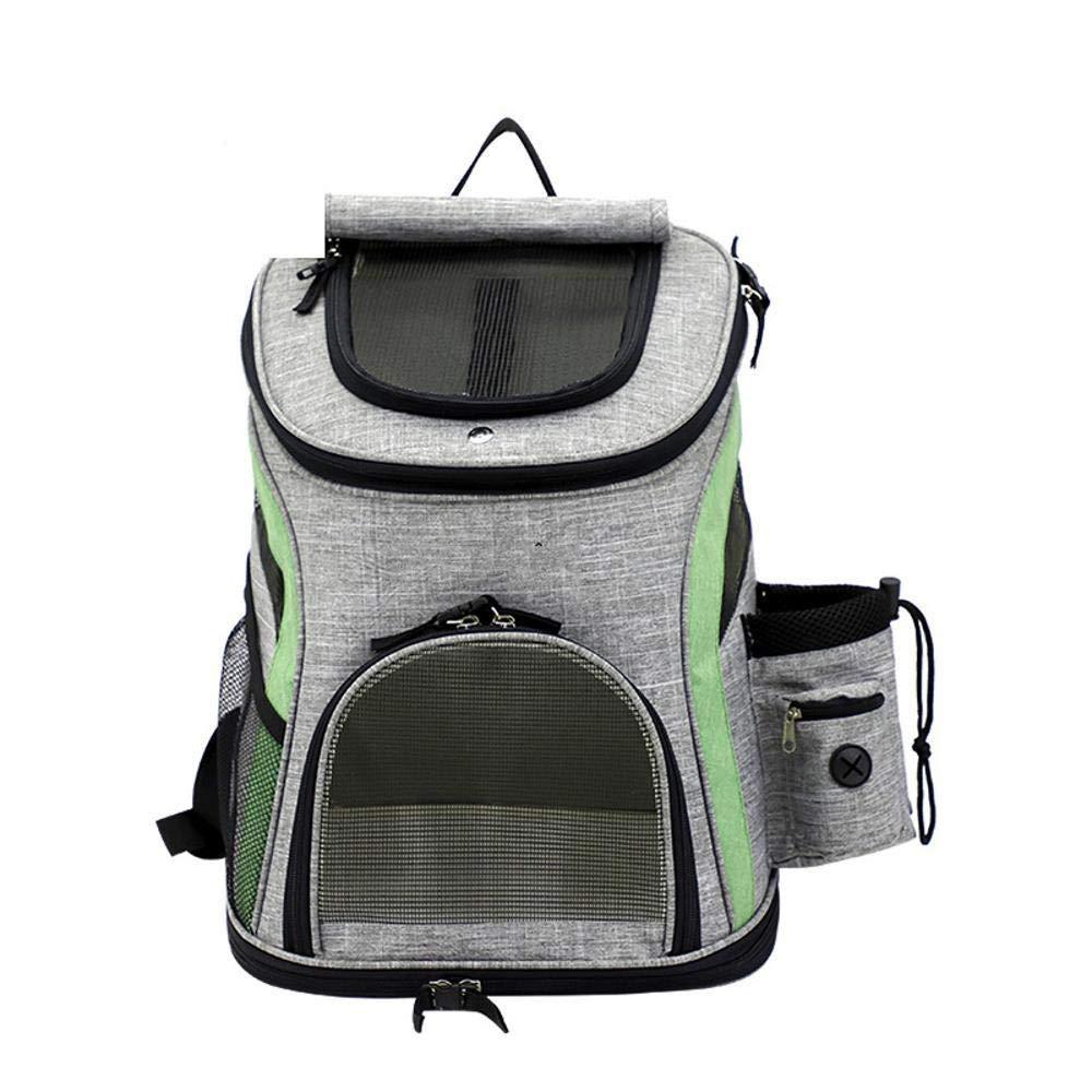 Deluxe Multi Cat Tower Pet Backpack cat Out Shoulder Bag Carry-on Bag Doggie Backpack Travel Bag pet Transport Pouch Suitable for 4-6 kg or so Dog