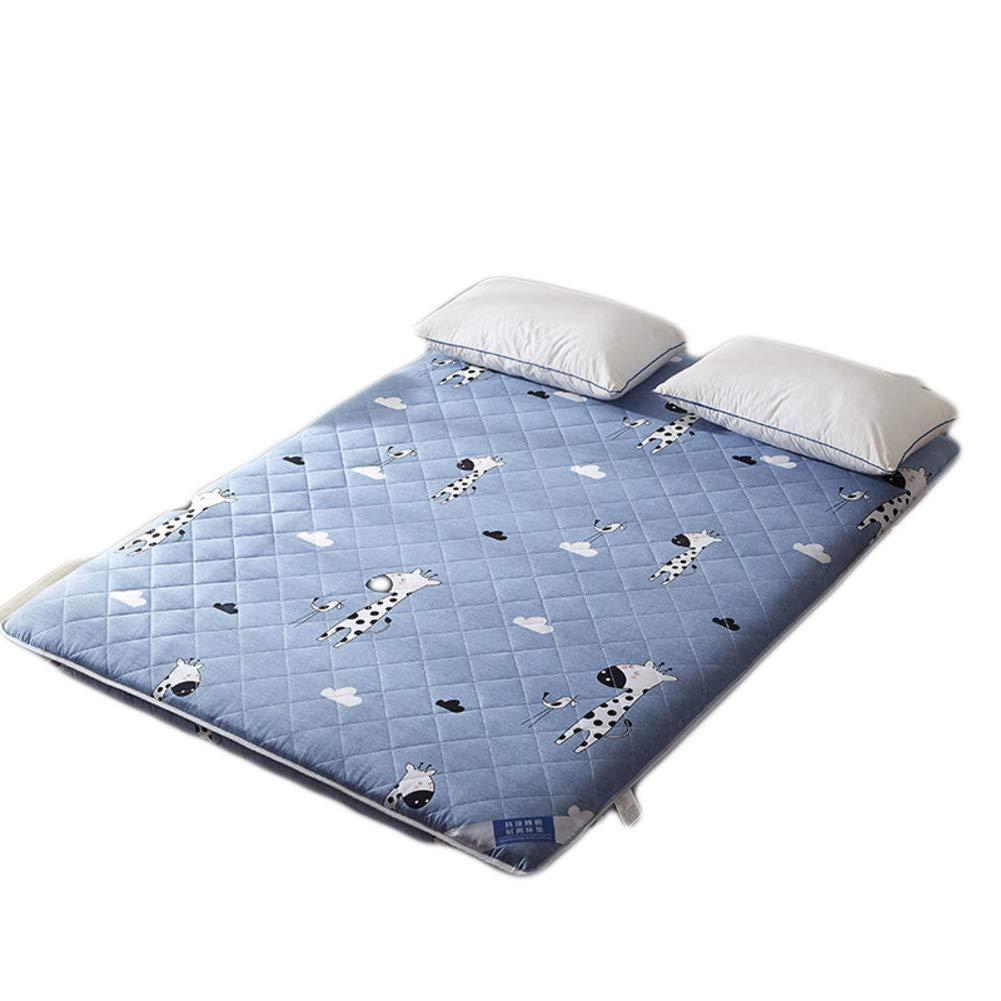綿 折り畳み式 畳マットレス 肥厚 ベッド マットレス パッド 学生 寮 日本床布団のマットレス-E 90x200x7cm B07GQTSM11 E 90x200x7cm