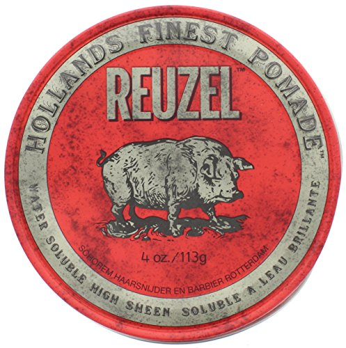 Reuzel High Sheen Red Pomade, 4 oz