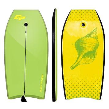 """GYMAX Body Board 42""""(106cm) EPS+IXPE Lightweight Bodyboard Beach Float Wave 3d33ab1b3a334"""