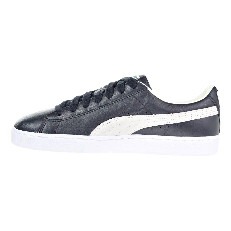 Puma Basket Classic Men s Shoes Black White 351912-02 (11.5 D(M) US)   Amazon.co.uk  Shoes   Bags 97549688d