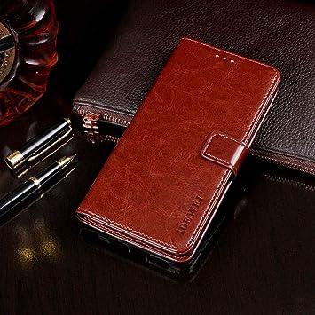 Funda ASUS ZenFone 3 ZE552KL,Suave PU Leather Cuero con Flip Cover ...