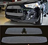 mitsubishi asx grill - 2013-2015 For Mitsubishi RVR/Outlander Sport/ASX Honeycomb Front Grid Grill Grille Cover