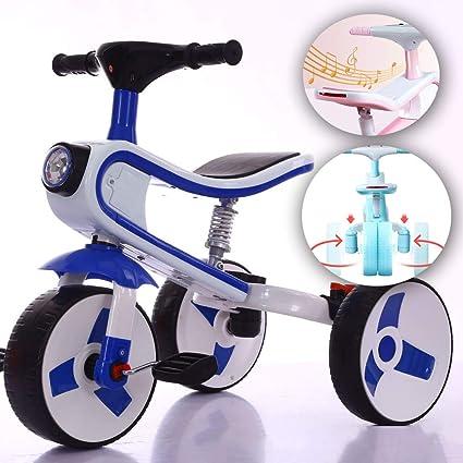 Amazon.com: ANYURAN Bicicleta Balanceada Plegable Función ...