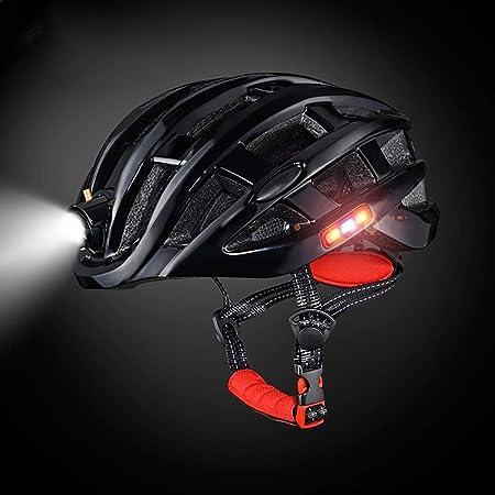 Z·Bling Certificación CE Casco Bicicleta,con Luz de Seguridad LED ...