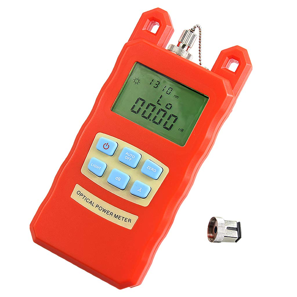 SM SunniMix -70dBm~+10dBm 850~1625nm Optical Power Meter Tester FC SC Handheld Optical Power Meter + with 30mW Visual Fault Locator by SM SunniMix (Image #8)
