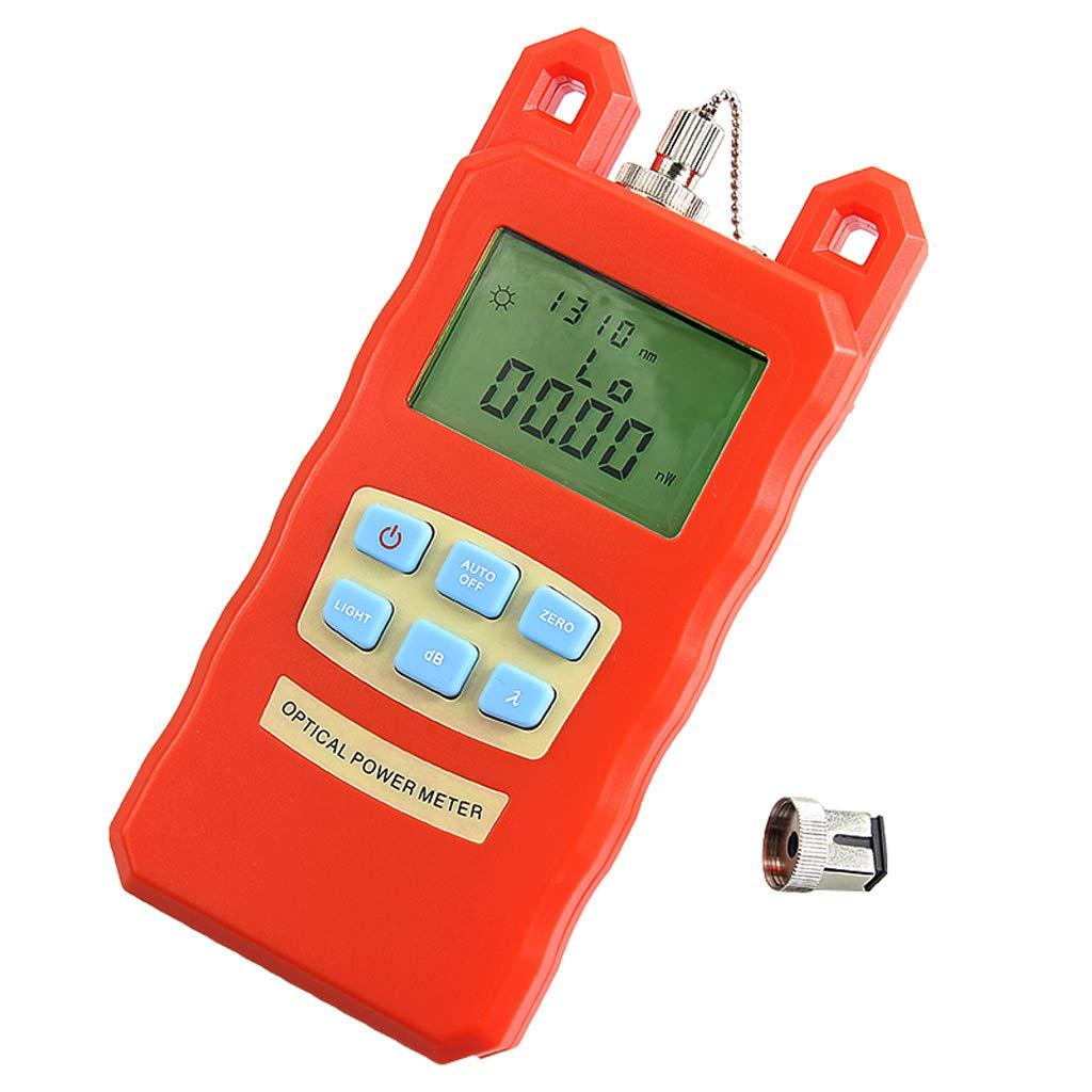 SM SunniMix Pack -70dBm~+10dBm 850~1625nm Optical Power Meter Tester FC SC Handheld Optical Power Meter + 10mW Visual Fault Locator Pen by SM SunniMix (Image #9)