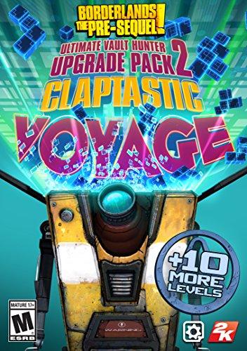 Borderlands: The Pre-Sequel - Claptastic Voyage and Ultimate Vault Hunter Upgrade Pack 2 [Online Game Code]