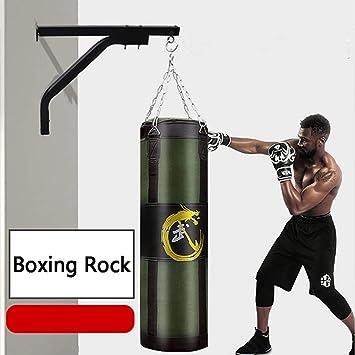 Festnight Boxing Hanger Heavy Bag Bracket Wall Mount 220lbs Boxing Punch Bag Hanger Training Black