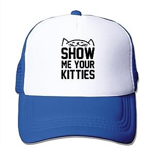 Men's Show Me Your Kitties Classic Mesh Cap Baseball Hats