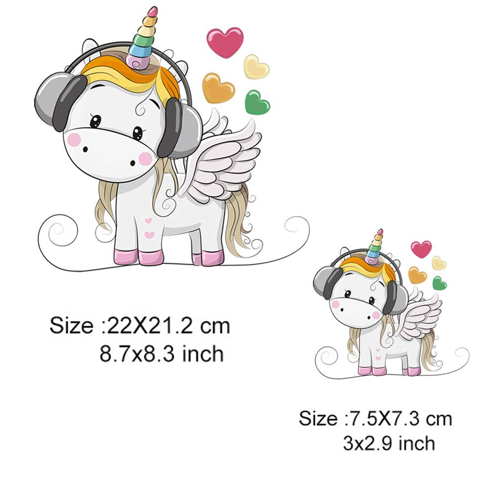 Babys Clothing Unicorn Accessories Calculs Unicorn Iron On