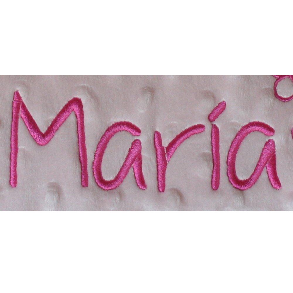 Manta Bebé Personalizada con Nombre, para Coche y/o Minicuna