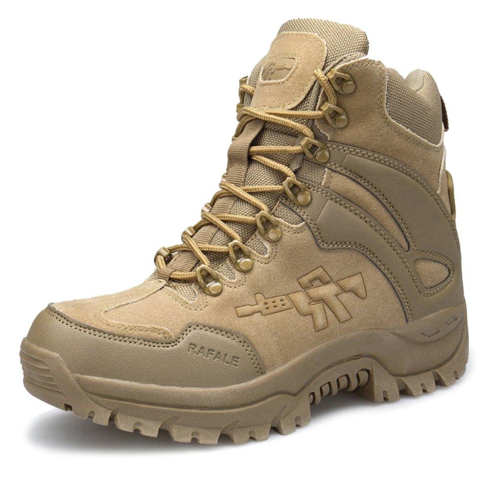 MERRYHE Stivali Tattici Per Gli Uomini Esercito Militare Di Combattimento Stivali Sicurezza Polizia Cadet Sicurezza Desert Boots Lace Up…