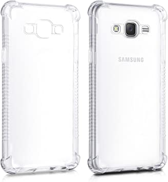 REY Funda Anti-Shock Gel Transparente para Samsung Galaxy J5 2016, Ultra Fina 0,33mm, Esquinas Reforzadas, Silicona TPU Alta Resistencia: Amazon.es: Electrónica