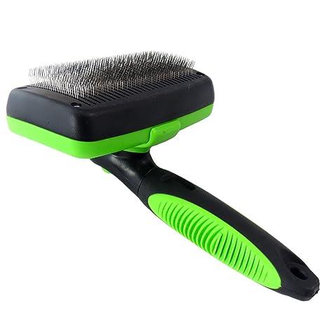 ueetek cepillo autopulente para animales domésticos para eliminar pelo superfluo Muerto y sottopelo, Deshedding Massaging