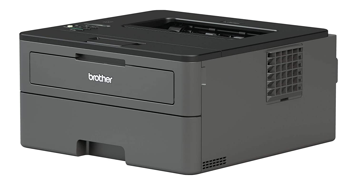 Brother HLL2370DN - Impresora láser monocromo con red y dúplex + Brother TN-2410 Laser cartridge 1200 páginas Negro tóner y cartucho láser