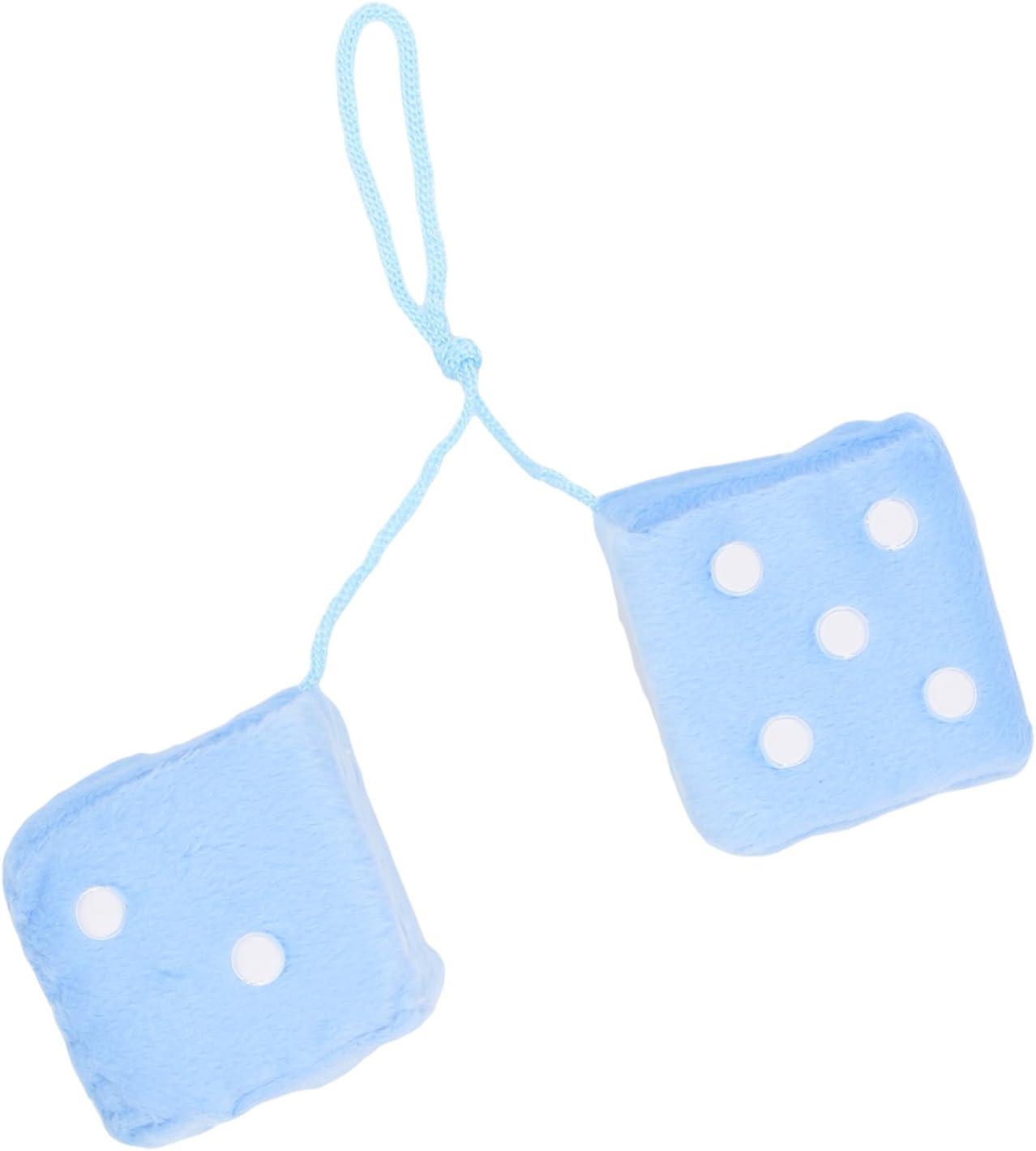 Sumex DADOS30 Dados Azules/Puntos Blancos Decorativos, 7X7 cm