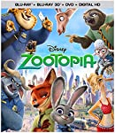 Cover Image for 'Zootopia (3D/BD/DVD/Digital HD)'