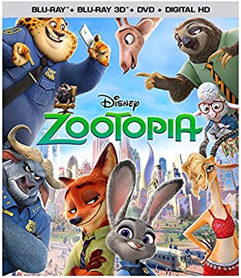 amazon com zootopia 3d bd dvd digital hd blu ray ginnifer