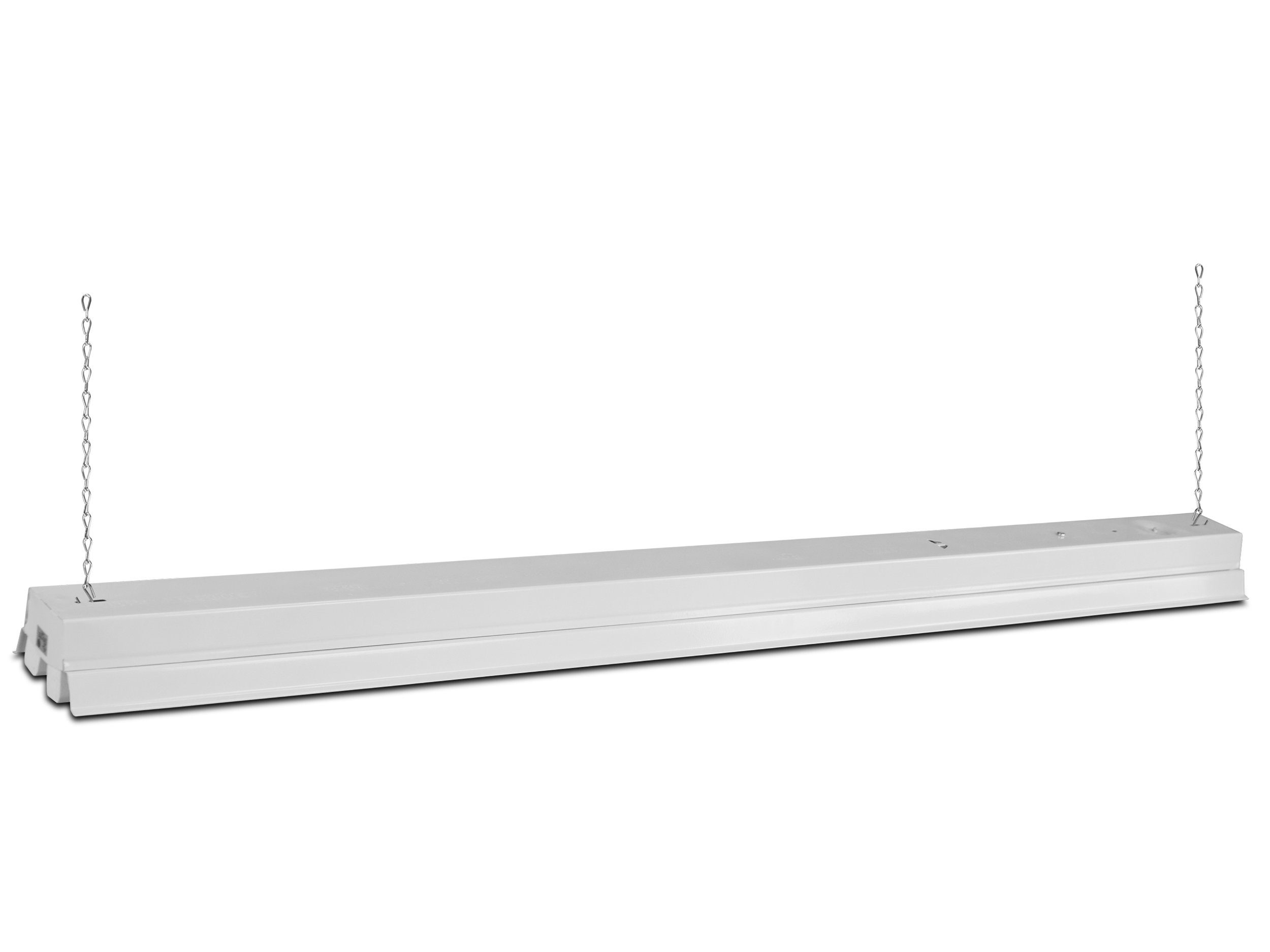 Howard Lighting FSL4W 4' Fluorescent Shop Light, White