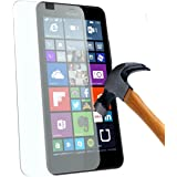 Microsoft Lumia 650 : Protection d'écran en verre trempé - Tempered glass Screen protector 9H premium / Films vitre Protecteur d'écran verre trempé nouveau (Nokia) Lumia 650 smartphone 2016 - Version intégrale avec accessoires - Prix découverte Accessoires XEPTIO