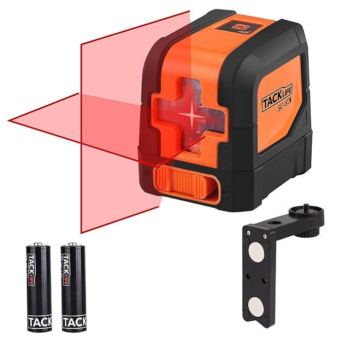 150 opinioni per Tacklife SC-L01 Laser a Croce Autolivellante Misuratore a Infrarossi Orizzontale