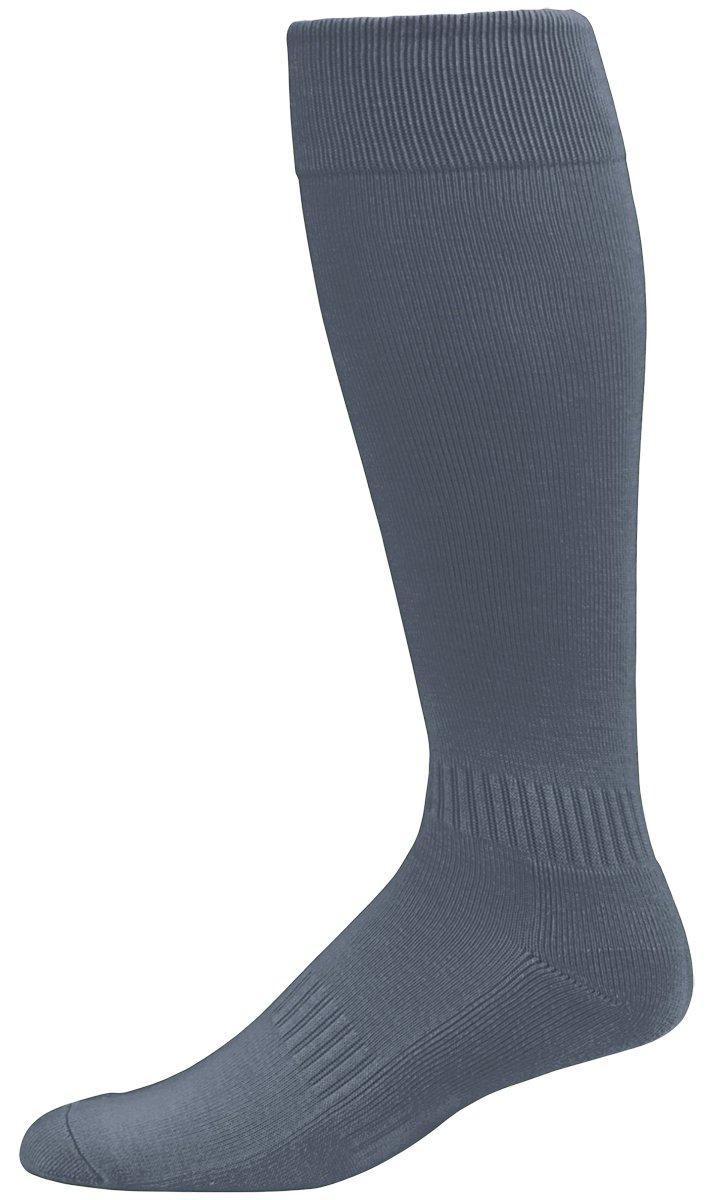 Augusta Sportswear Elite multi-sportソックス7 – 9 B01C5G083U 7-9|黒鉛 黒鉛 43290