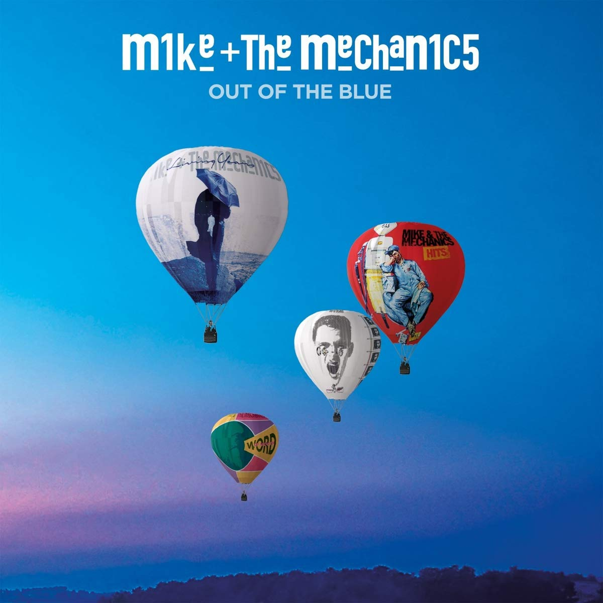 Vinilo : Mike + the Mechanics - Out Of The Blue (LP Vinyl)