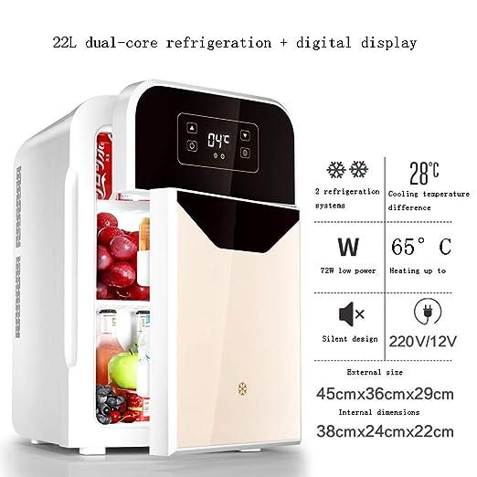 Xyanzi Frigoríficos Mini Mini Refrigerador con Congelador ...