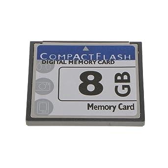 Tarjeta De Memoria Digital 8gb Cf Para Cámaras Teléfonos Móviles Gps Mp3 Y PDA
