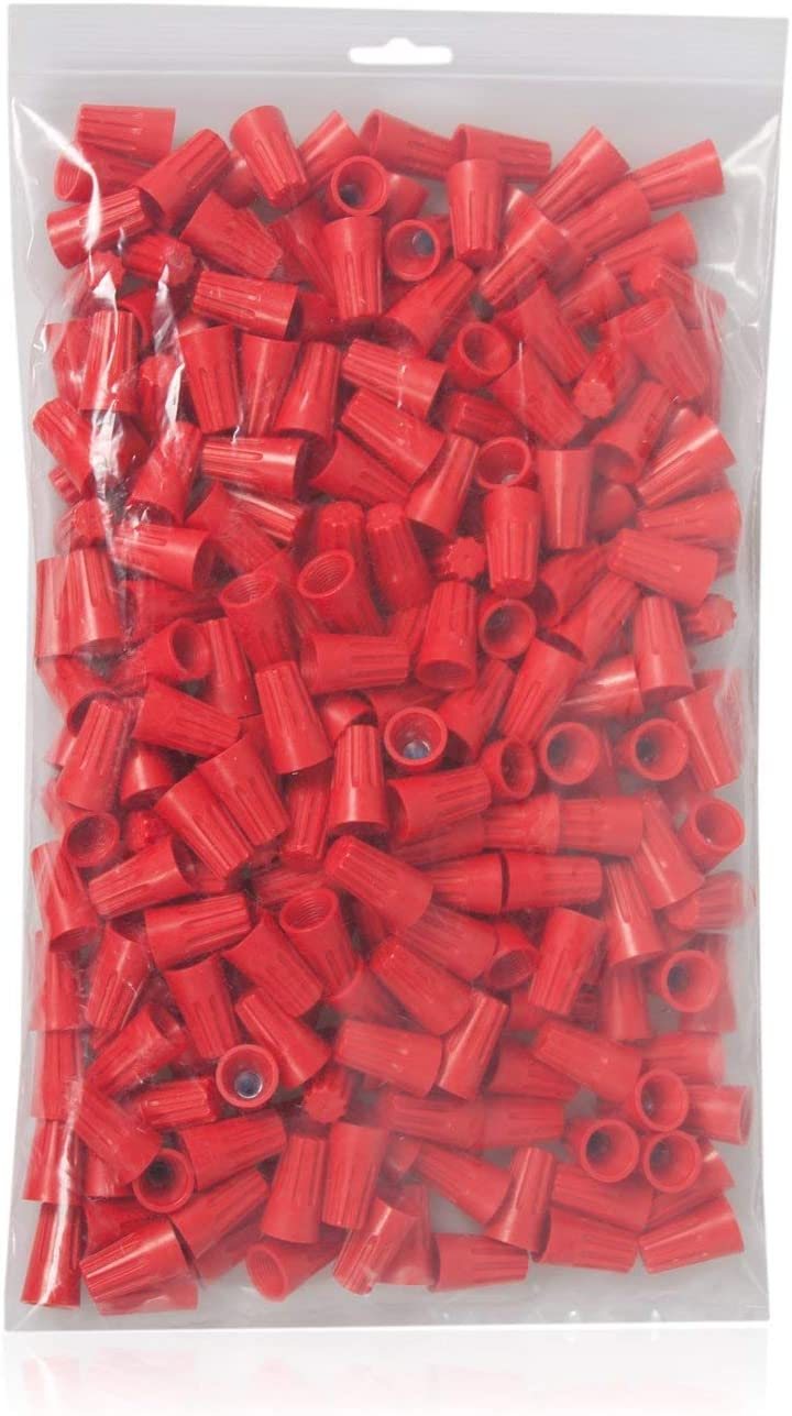 Orange 500 Red 250 Yellow 500 Maxxima Electrical Wire Connector Pack Bundle Blue 1000 Gray 1000