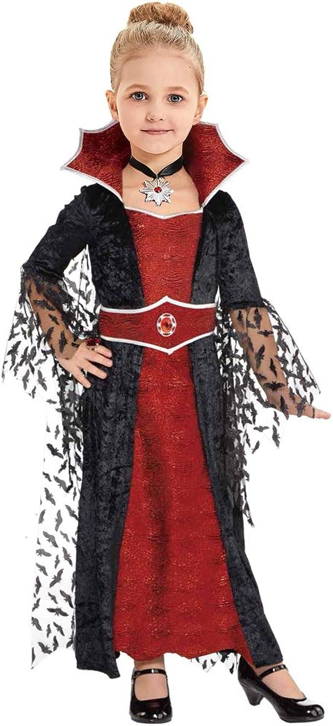 Deluxe Royal Vampiress Halloween Ladies Fancy Dress Costume