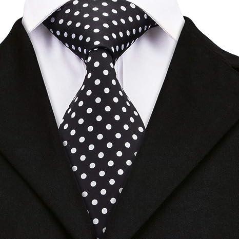 WOXHY Corbata de los Hombres Dn-1459 8.5Cm Novedad Corbatas para ...