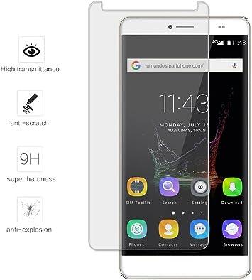 Tumundosmartphone Protector Cristal Templado para BLUBOO Maya MAX Vidrio: Amazon.es: Electrónica